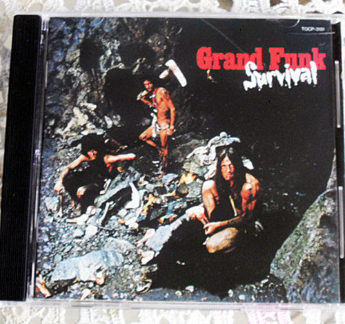 Hard Rock - GRAND FUNK (Railroad) Survival CD (Japan Issue) 1997