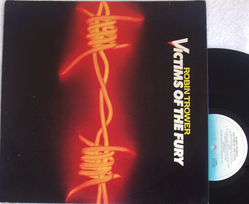Blues Rock - Robin Trower (Procol Harum) Victims Of The Fury  Vinyl 1979