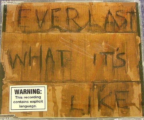 Rap - EVERLAST What It's Like CD Single 1998