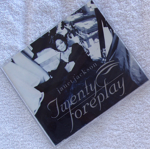 House Downtempo - JANET JACKSON Twenty Foreplay CD EP 1995