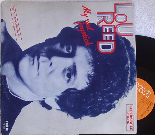 "Alternative Rock - Lou Reed My Red Joystick 12"" Single  Vinyl 1984"