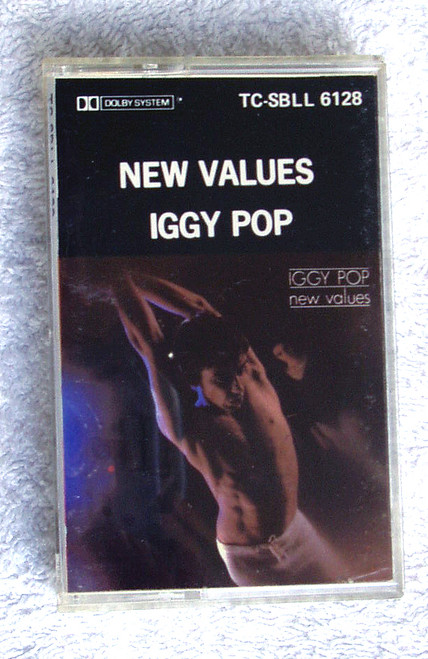 Garage Rock - Iggy Pop New Values NZ Release Cassette 1979