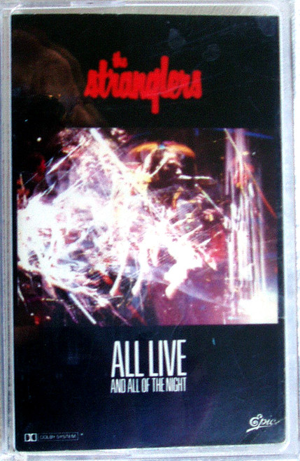 New Wave - THE STRANGLERS All Live And All Of The Night Cassette 1989