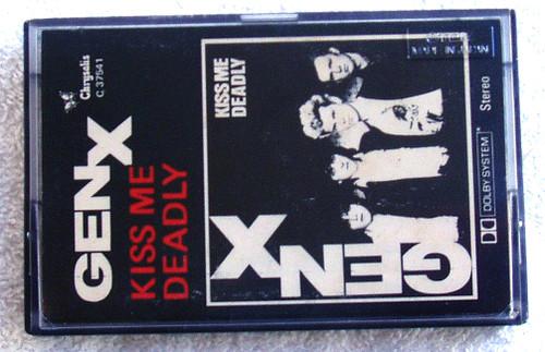 New Wave Punk - Gen X (Billy Idol) Kiss Me Deadly Cassette 1981