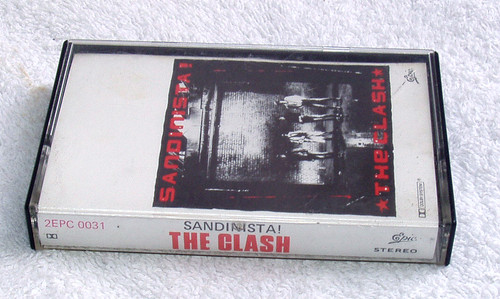 Dub Reggae Rock - The Clash Sandinista!  Cassette 1980