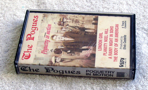 Indie Rock  - The Pogues Poguetry In Motion NZ Release EP Cassette 1986