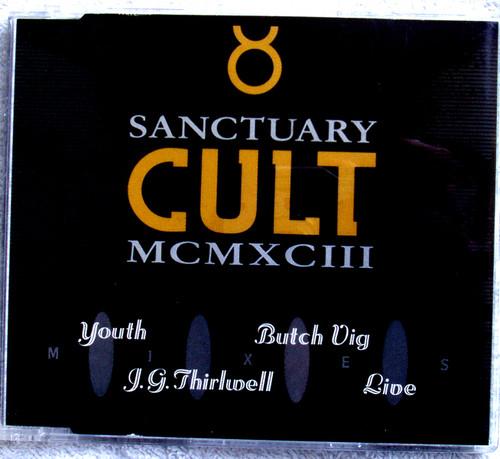 Alternative Rock - CULT Sanctuary MCMXCIII Mixes Maxi Single CD 1993