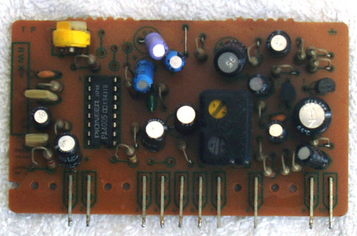 PIONEER Cassette Deck Model: CT-506 Dolby Sub Board SPARE PART