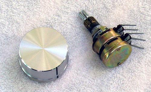 PIONEER Cassette Deck Model: CT-506  Large Knob & Pot SPARE PART