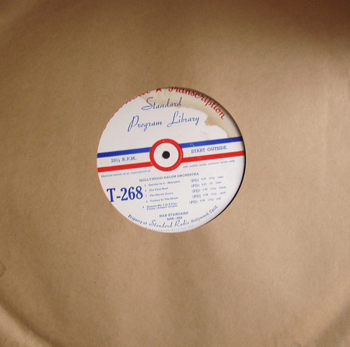 USA Broadcast Transcription Record Late 40's Early 50's #6