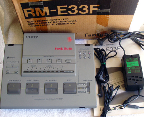 SONY Family Video Editing Controller Model: RM-E33F Complete & Working