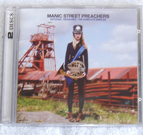 Alt. Rock - Manic Street Preachers National Treasures 2x CD 2011