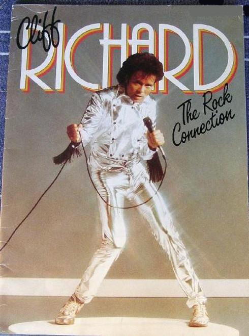 Cliff Richard (Harry Webb) - The Rock Connection World Tour 1984 Programme