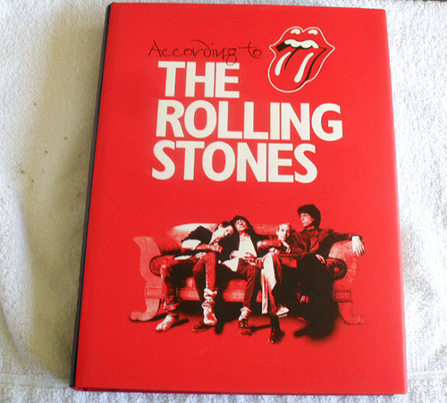 Hardcover Music Book - According To The Rolling Stones 2003
