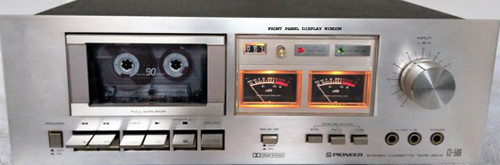 PIONEER Cassette Deck Model: CT-506 Front Panel Window SPARE PART