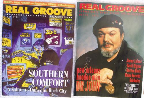 NZ Music Memorabilia - 2x Real Groove (Dunedin Sound & More) 1994-96