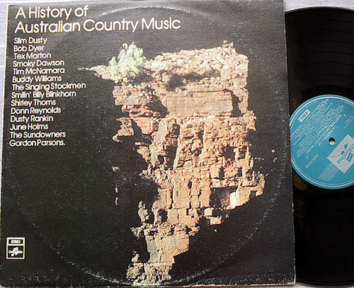 A History Of Australian Country Music (Mono) Vinyl 1974