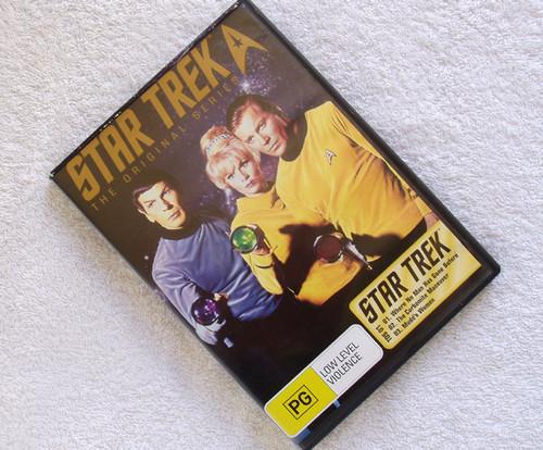 Startrek (Original Series)  TOS 01 3 Episodes CBS DVD (PAL)