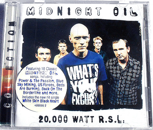 Garage Rock - Midnight Oil 20,000 Watt R.S.L  CD (Remastered)  1997