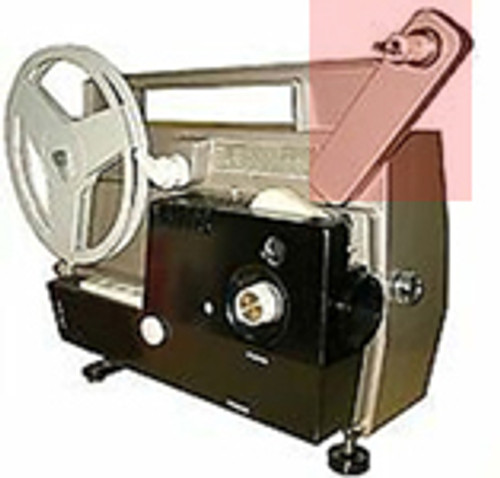 TITAN 8mm Film Projector PART - Complete Reel Drive System (Front)