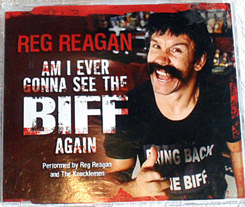 Novelty Rock - Reg Reagan  Am I Ever Gonna See The Biff Again CD 2004