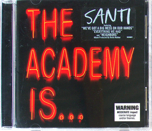 Punk Pop Rock - THE ACADEMY IS... Santi CD 2007