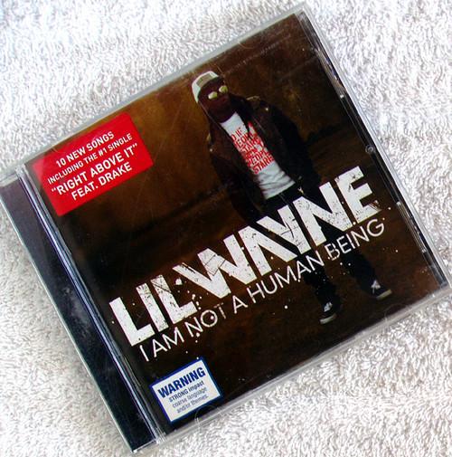 Hip Hop - LIL WAYNE I Am Not A Human Being CD 2009
