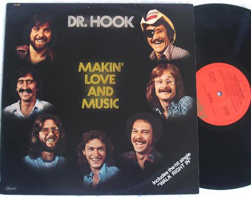 Pop Rock  - Dr Hook Makin' Love And Music  Vinyl 1977