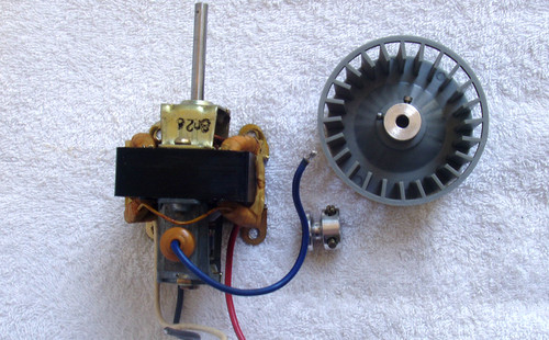 TITAN 8mm Film Projector PART - AC Drive Motor (Plus)
