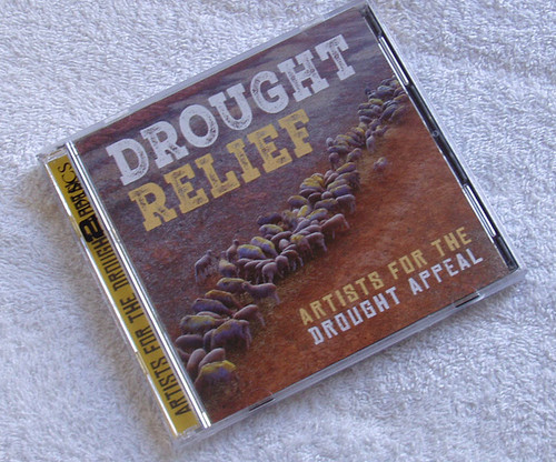 Country Folk Pop Rock - DROUGHT RELIEF Compilation 2x CD 2018