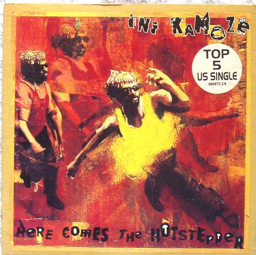 Reggae Hip Hop - INI KAMOZE Here Comes The Hotstepper CD Maxi (Card Sleeve) 1994