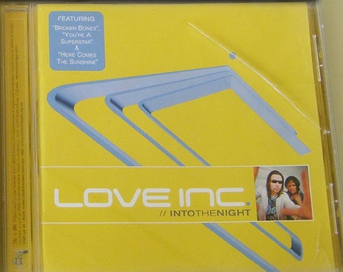 HARD TO FIND! Europop House CD - Love Inc Into the Night 2000