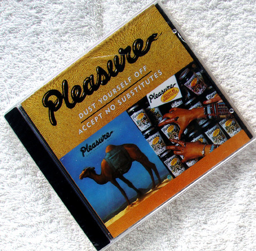 Funky RnB - PLEASURE Dust Yourself Off CD 2002 (NEW SEALED)