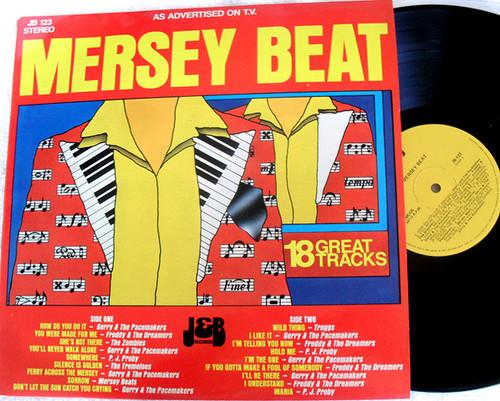 Rock N Roll - Mersey Beat Compilation Vinyl 1980's