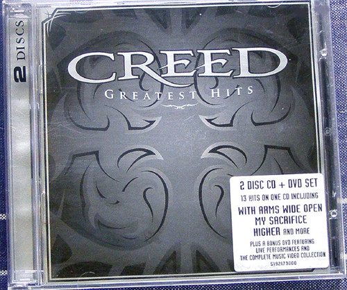 Heavy Metal - Creed Greatest Hits CD & DVD 2004