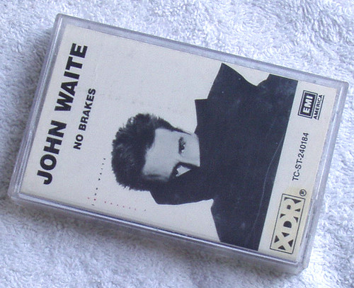 Pop Rock  - John Waite No Brakes Cassette 1984