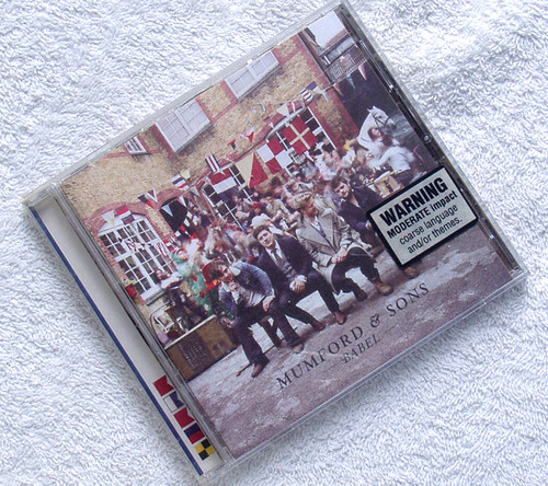 Folk Bluegrass - Mumford & Sons Babel CD 2012