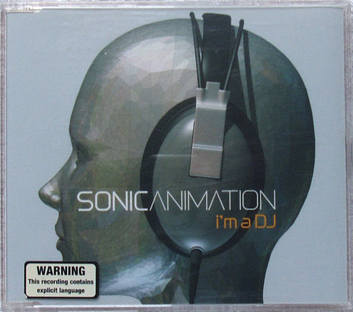 Synth Pop Big Beat - Sonic Animation I'm A DJ CD Maxi Single 2002