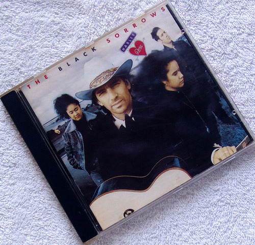 Country Pop Rock - The Black Sorrows Harley &  Rose CD 1990