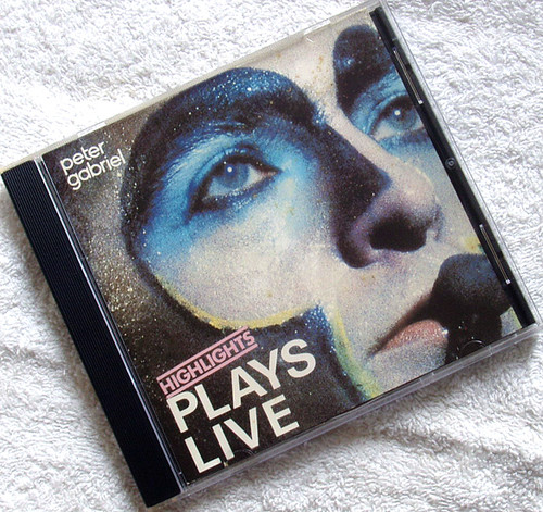 Pop Rock - Peter Gabriel Plays Live (Highlights) CD 1985