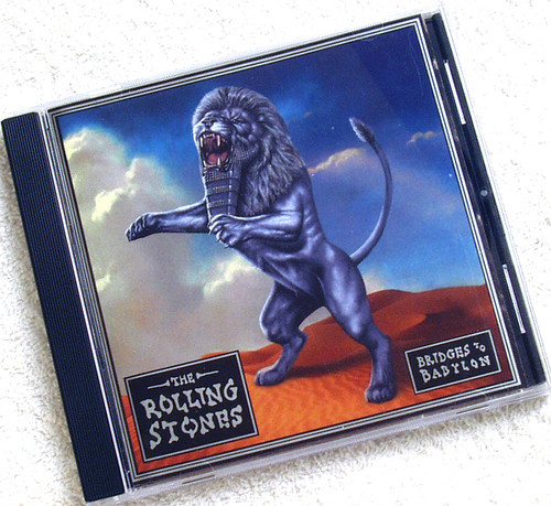 Pop Rock - The Rolling Stones Bridges To Babylon CD 1997