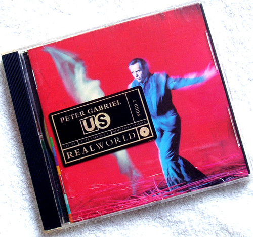 Art Pop Rock - Peter Gabriel US CD 1992
