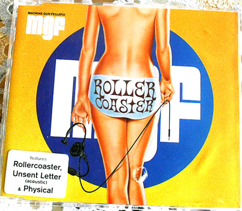 Alternative Rock - MACHINE GUN FELLATIO Rollercoaster  CD Single 2002