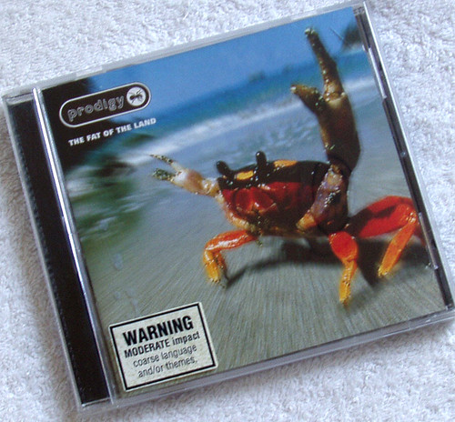 Breakbeat - The Prodigy The Fat Of The Land CD 1997