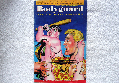 Adult Comic - BODYGUARD (#2 Of 3 - Australian Penthouse) Sept. 1990