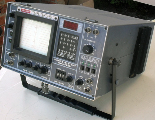 Test Equipment UNAOHM  Teletext Video Analyser Model EH-1000