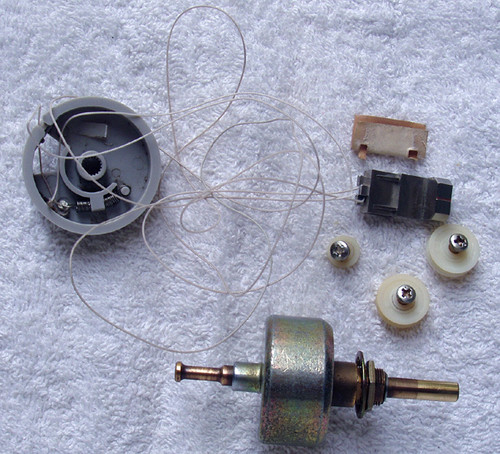 TECHNICS SA-104 Receiver Mechanical Tuning System SPARE PART