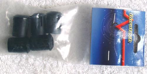 10mm Jumbo LED Bezels (Pack Of Five) Brand New Old Stock