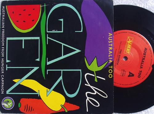 """Pop - AUSTRALIA TOO The Garden  7"""" Vinyl 1985"""