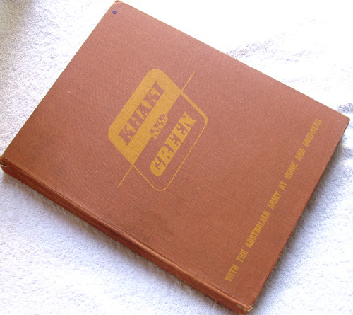 WWII AUSTRALIAN ARMY BOOK - Khaki And Green 1943 Edition Plus ...